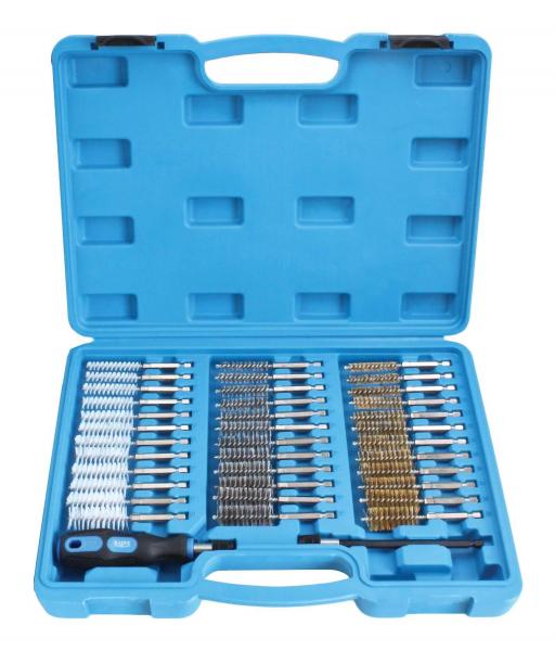 Set perii pentru curatat canale injectoare 38 piese 0