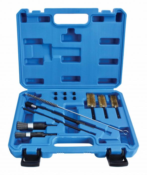 Set perii pentru curatat canale/scaune injectoare 1