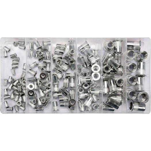 Set piulite nituibile din aluminiu M3-M10 0