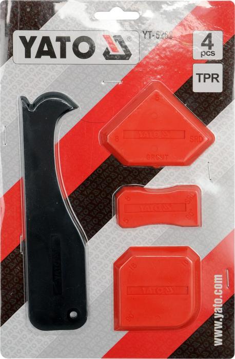 Set spatule silicon 4 piese [0]