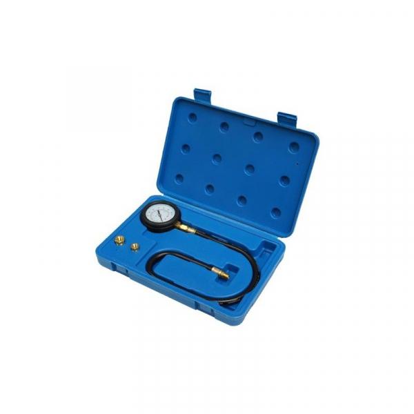 Tester presiune ulei model 3  0-7bar 3 adaptori 1/8, 1/4, 3/8 0