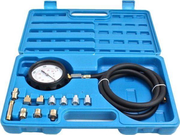 Trusa pentru masurat presiune ulei cu adaptoare 0
