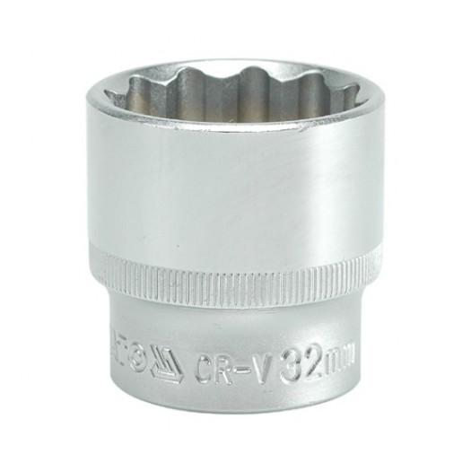 Tubulara bihexagonala 1/2 32mm 0