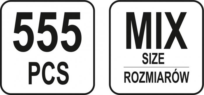 Set pene de siguranta 555 piese 2
