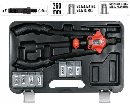 Cleste pentru piulite nituibile M3-M120