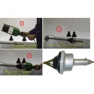 Dispozitiv pneumatic pentru montat burduf planetara2