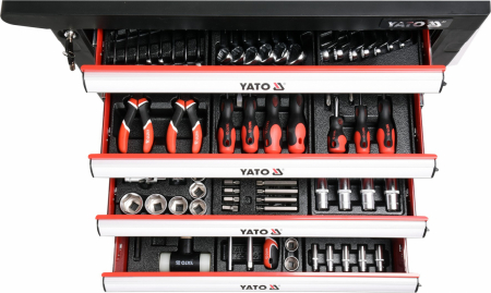 Dulap scule profesional YATO 6 sertare Echipat 177 piese [3]