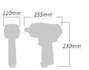 Pistol pneumatic 3/4 2000Nm2