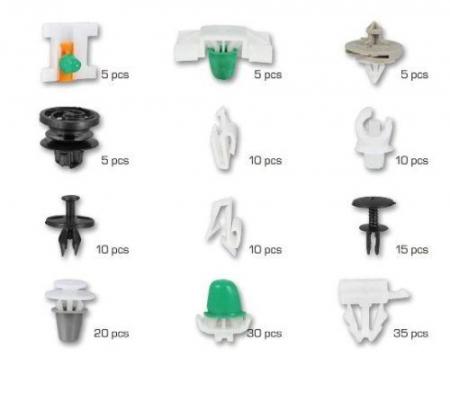 Set clipsuri cleme auto AUDI 160 piese [1]