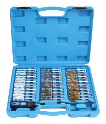 Set perii pentru curatat canale injectoare 38 piese0
