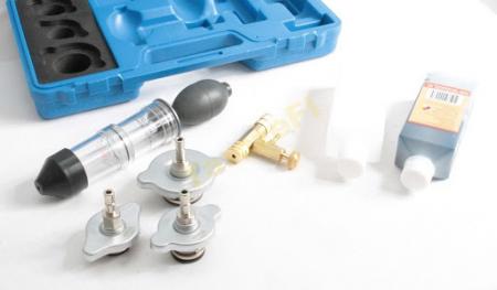 Tester garnitura de chiuloasa cu adaptoare si solutie7
