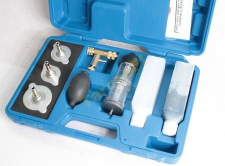 Tester garnitura de chiuloasa cu adaptoare si solutie1