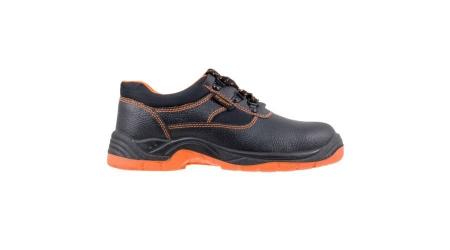 Pantofi de protectie cu bombeu metalic din piele de bivol [1]