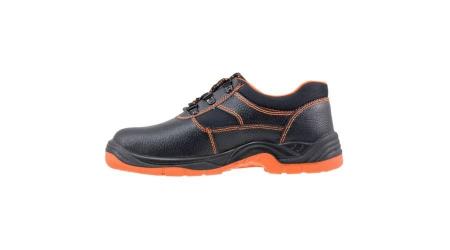 Pantofi de protectie cu bombeu metalic din piele de bivol [2]