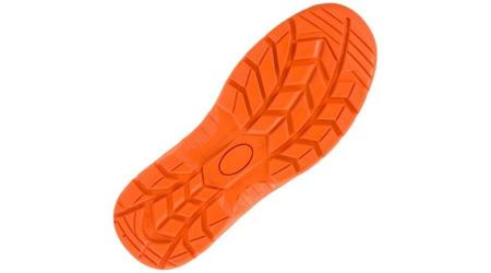 Pantofi de protectie cu bombeu metalic din piele de bivol [3]