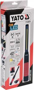 Lanterna LED cu acumulator/USB 5+3W 600/260LM4