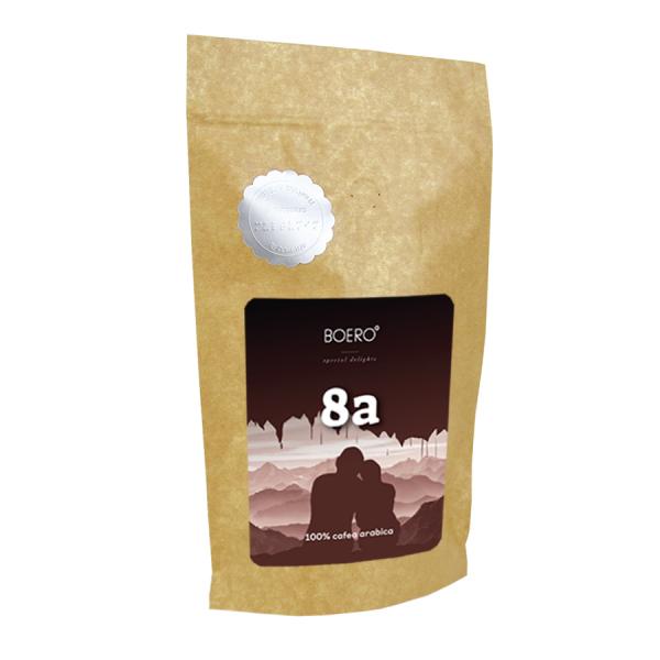 8a, cafea boabe proaspat prajita Boero, 350 grame 0