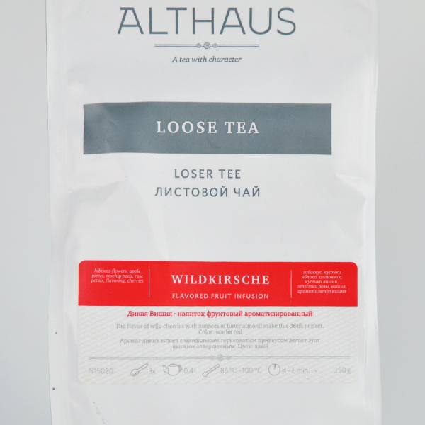 Wild Cherry, ceai Althaus Loose Tea, 250 gr 2
