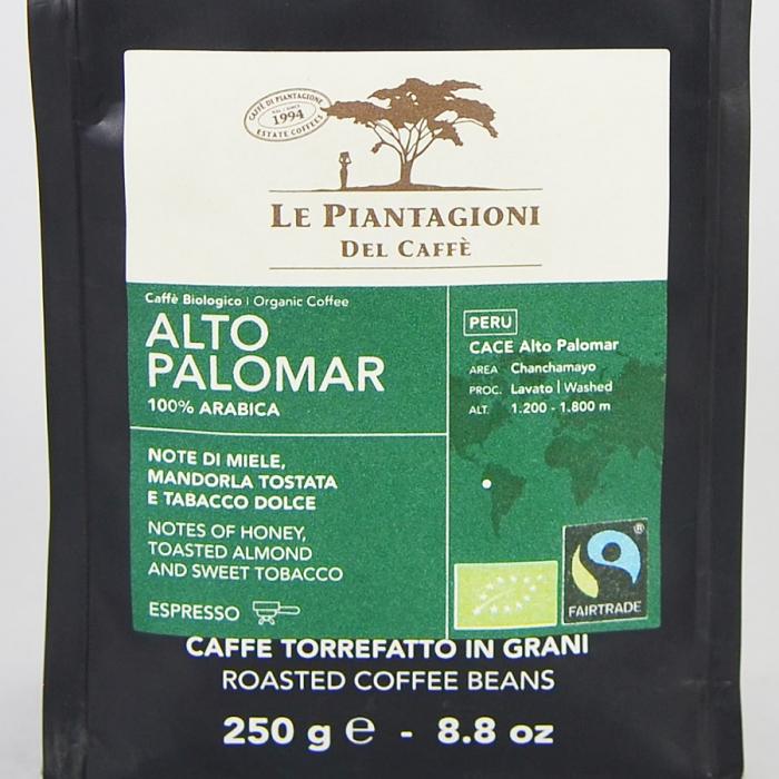 Alto Palomar, cafea boabe Le piantagioni del caffe, 250gr [1]