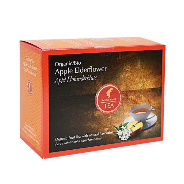Apple Elderflower, ceai organic Julius Meinl, Big Bags 0