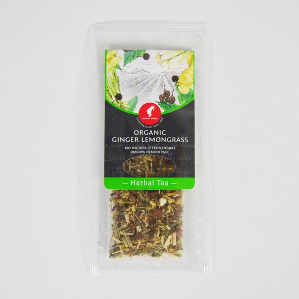Ginger Lemongrass, ceai organic Julius Meinl, Big Bags 4