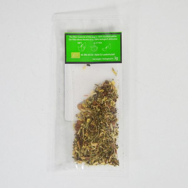 Ginger Lemongrass, ceai organic Julius Meinl, Big Bags 5
