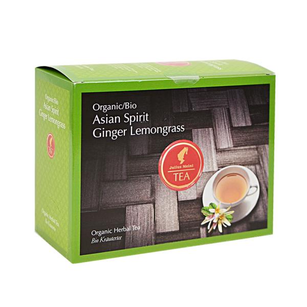 Asian Spirit Ginger Lemongrass, ceai organic Julius Meinl, Big Bags 0