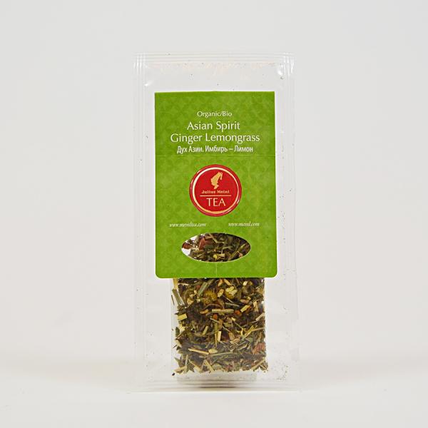 Asian Spirit Ginger Lemongrass, ceai organic Julius Meinl, Big Bags 2