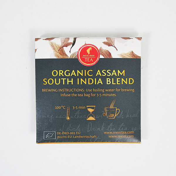 Assam South India Blend, ceai organic Julius Meinl, Leaf Bags 6