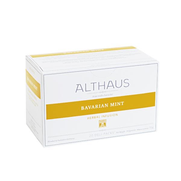 Bavarian Mint, ceai Althaus Deli Packs 1