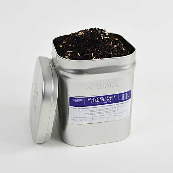 Black Currant Traditional, ceai Althaus Loose Tea, 250 grame 1