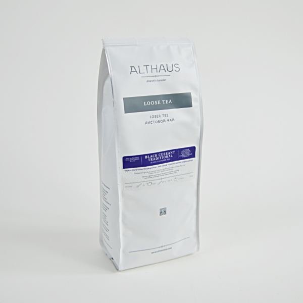 Black Currant Traditional, ceai Althaus Loose Tea, 250 grame 2