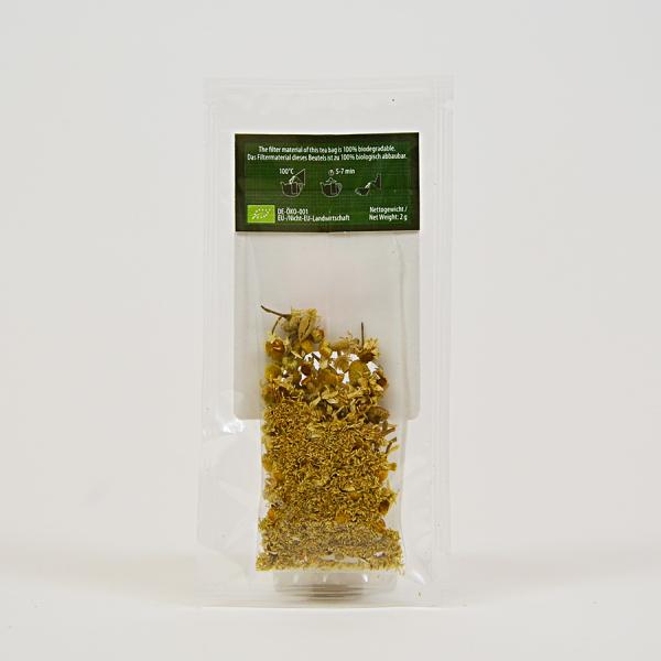 Camomile, ceai organic Julius Meinl, Big Bags 3