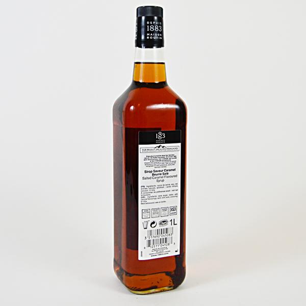 Caramel Sarat, Sirop 1883 Maison Routin, 1L 1
