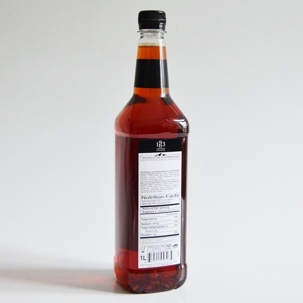 Caramel, Sugar Free, Sirop 1883 Maison Routin, 1L 1