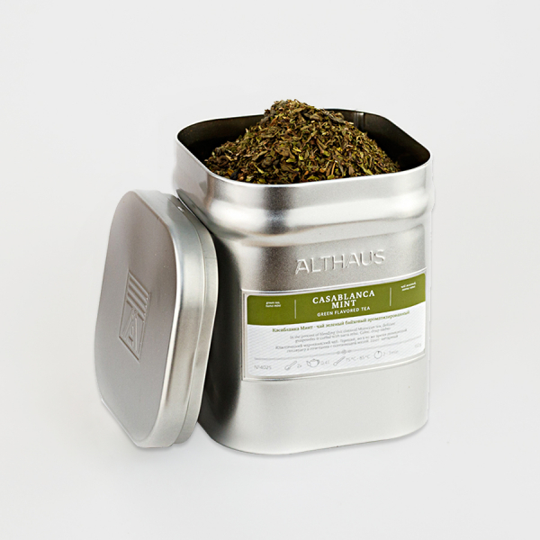 Casablanca Mint, ceai Althaus Loose Tea, 150 grame 1
