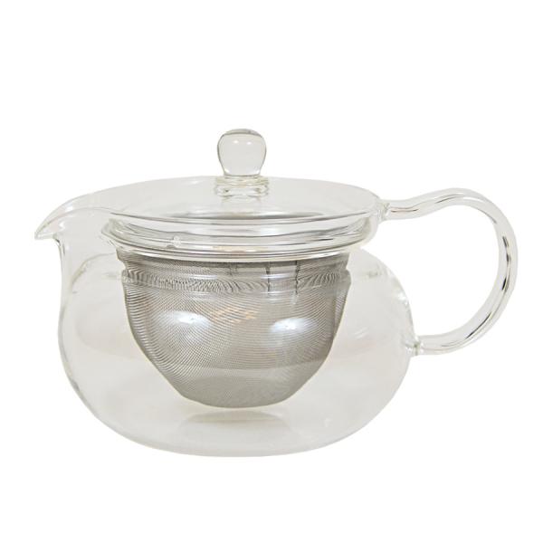 Ceainic din sticla termorezistenta Hario, 450 ml 0