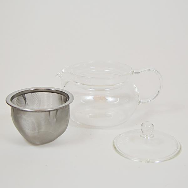 Ceainic din sticla termorezistenta Hario, 450 ml 1