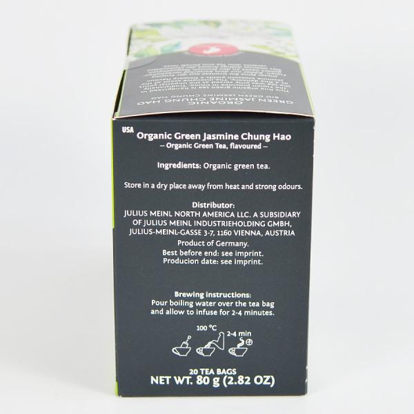 Green Jasmine Chung Hao, ceai organic Julius Meinl, Big Bags 2