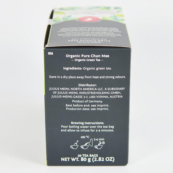 Pure Chun Mee, ceai organic Julius Meinl, Big Bags 2