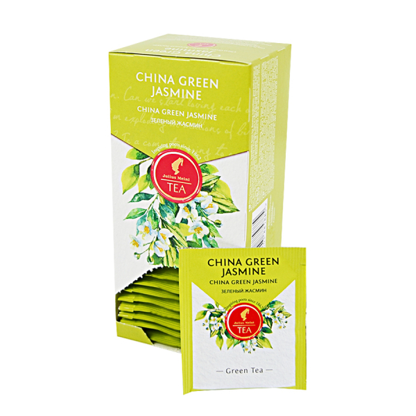 China Green Jasmine, ceai Julius Meinl - 25 plicuri 2