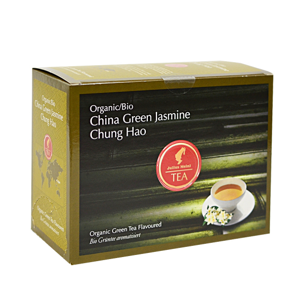 China Green Jasmine Chung Hao, ceai organic Julius Meinl, Big Bags