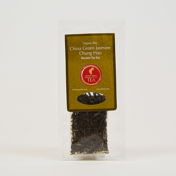 China Green Jasmine Chung Hao, ceai organic Julius Meinl, Big Bags 1