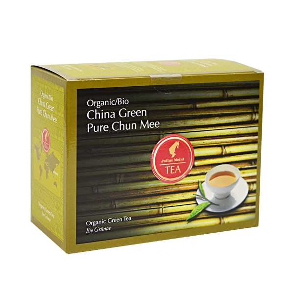 China Green Pure Chun Mee, ceai organic Julius Meinl, Big Bags 0