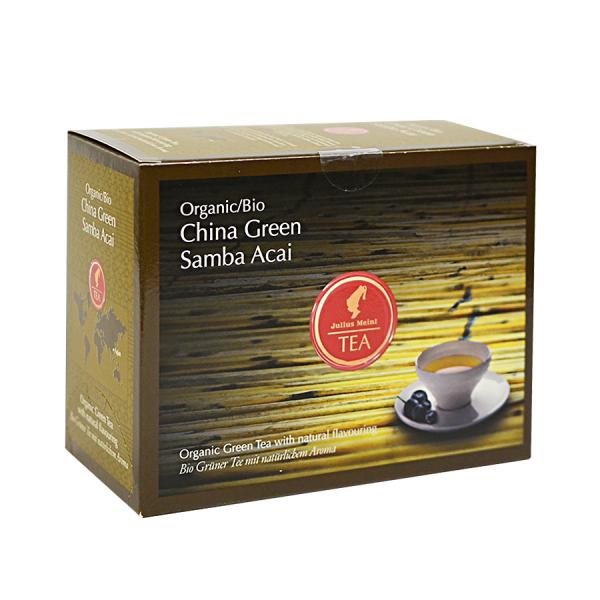 China Green Samba Acai, ceai organic Julius Meinl, Big Bags 0