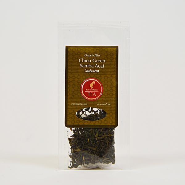 China Green Samba Acai, ceai organic Julius Meinl, Big Bags 2
