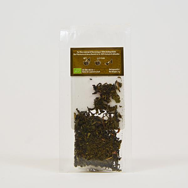 China Green Samba Acai, ceai organic Julius Meinl, Big Bags 3