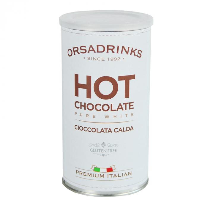 Cioccolata calda alba ODK , Pure White, 1 kg [0]