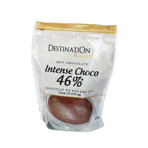 Ciocolata calda organica, 46% intensa, 300 grame, Destination 0