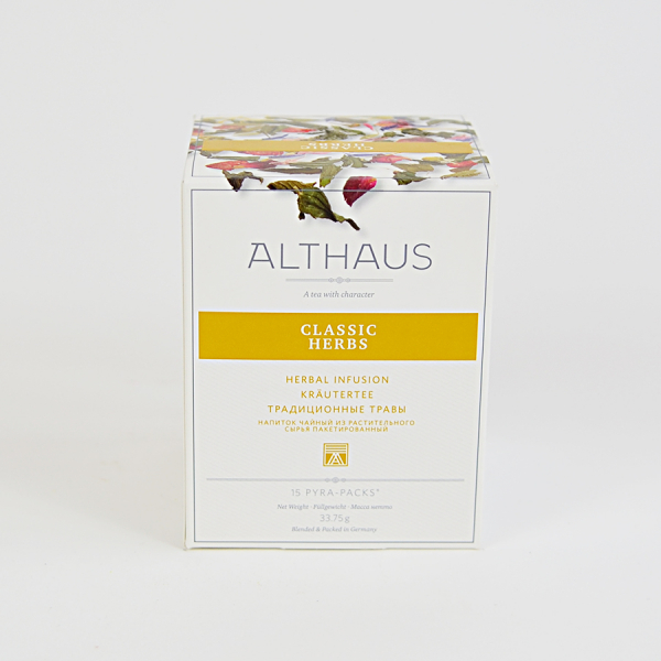 Classic Herbs, ceai Althaus Pyra Packs 2